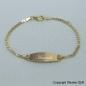 Preview: Kinerarmband Gold oval Bild-2