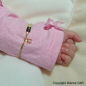 Preview: Kinderarmband Schmitterling rosa Bild 4